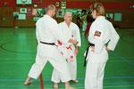 Mitte Sensei Prof.Dr.med. Kogel 6.DAN Karate-Do Renshi, 5.DAN Kobudo u.a.