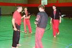 Sensei H.-D. Rauscher 8.DAN Karate Hanshi, 7. DAN Bo-Jutsu, 6. DAN Kobudo Kyoshi u.a.