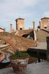 Die Renaissancebrücke Treponti aus dem 17. Jh.