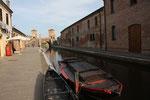 Kanäle und Brücken von Comacchio