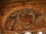 Fresken in der Kirche von der Abbazia di Pomposa