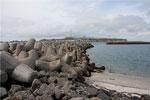 Hafenmole vom Dünenhafen