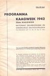 Kaagweek 1942