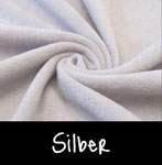 Polar Fleece - Thermoeffekt (Silber)