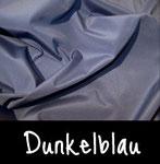 Anorakstoff - Nylon (leicht wasserabweisend) Dunkelblau