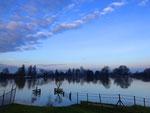 High water IJssel during wintertime -1