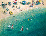 Horseshoe Beach oil painting, F50 (116.7x91.0cm)