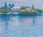 Bermuda oil painting, F10 (53.0x45.5cm)