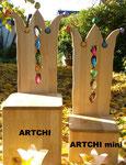 """""""ARTCHI"""" (Lehnenhöhe  85 cm - Sitzhöhe auf Wunsch bis max. 38 cm) und """"ARTCHI mini"""" (80 cm - Sitzhöhe 25cm) >> je 239,-€"""