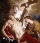 st Sebastien soigné par Irène - Antonio Belluci - 1718
