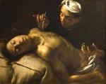 saint Sébastien soigné par Irène - Francesco Cairo