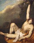 st Sebastien évanoui - Antonio de Bellis