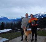 Frank und Duke aus der Schweiz