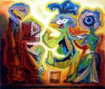 Minuet, 60 x 70 cm, Acryl auf Leinwand