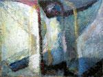 Phönix, 75 x 100 cm, Öl auf Leinwand, / Besitz des Künstlers /