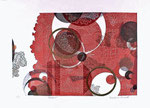 Rosaces, 2013, relief et gaufrage, 40,5 X 57 cm