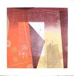 Essence d'Orient, 2013, relief, 38,5 X 38 cm