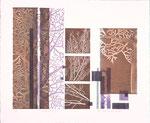 Autres temps, 2007, bois gravé et relief, 38 X 46 cm