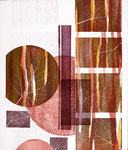 Jardin de silence, 2009, relief, 66 X 56 cm
