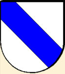 Ancient coat of arms Lords von Graben (variant)