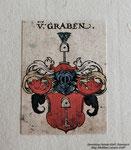 Wappen Herren von Graben (Archiv Matthias Laurenz Gräff)