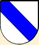 Herren von Graben, Stammwappen mit dem Schrägrechstbalken (Variante)