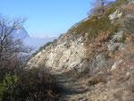 Felsensteppe im Wallis bei Gampel-Jeizinen