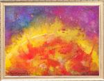 太陽  レンタルアート(Bサイズ)販売価格(額付き¥150,000 税抜き)