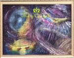 UFO(1)(1000×740) ¥600,000 税抜き)額付き アートサイズ(1009mm×709mm) レンタルアート可