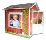 Spielhaus Paul aus Pappe