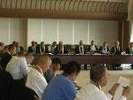 H21度第1回定例代議委員会開式