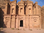 A climb of about half an hour from Petra leads to the Deir, which has been described as a monastery or a temple.