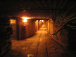 There are over 200 km of underground passages on nine underground levels