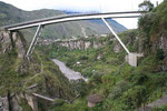 The highest bridge in Banos. That is our another challenge.