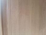 Rénovation et réalisation d'une imitation chêne contemporain sur panneaux de bois-Particulier Paris 7-