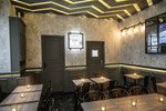 Enduit décoratif structuré pour restaurant-Restaurant Paris 8 Madeleine -