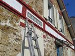 Rénovation et création de carreaux émaillés .Pavillon 19me Villiers sur marne (94)