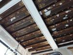 """Rénovation et création d'un décor d'ornements de style renaissance sur un plafond """"à la française"""" Paris 8me avenue Kleber"""