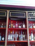 Bronzine or sur laque noir-Bar Paris 8-