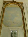 Rénovation d'un plafond peint au thème des quatres saisons période 19me sc.Particulier Neuilly Plaisance (93)