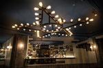 Ciel peint étoiles dorées -Café brasserie Paris 10 -