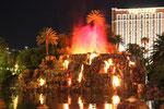 Vulkan vor dem Hotel Mirage, Las Vegas