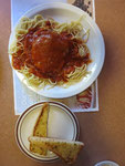 Hühnerbrust mit Spaghetti