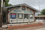 In Seligman, Route 66