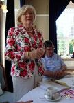 Ehrenrentmeisterin und 2. Vorsitzende Heide Abele