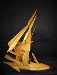 Greement - bois assemblé - 80x68x45 cm