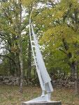 Cap Horn - acier peint - 300x110x50 cm