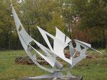 Partance - acier peint -200x300x110 cm