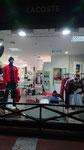 2018// Visual merchandising & window LACOSTE FW18/19_Chalon sur Saône