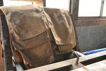 醪を淹れる絞り袋。丁寧にずれないように積み重ねないと、上手に絞れないのです。